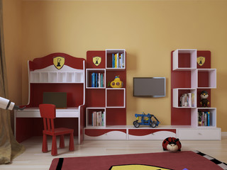 Children's room in a modern style