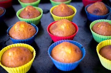 Homemade cupcakes