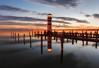 Lighthouse at Lake Neusiedl - Austria