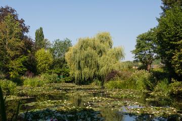 クロードモネの庭園