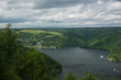 canvas print picture - Rurtalsperre im Nationalpark Eifel
