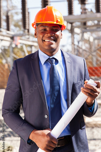 african power company manager © michaeljung