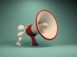 Big megaphone