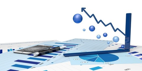 graphic positive financial analysis