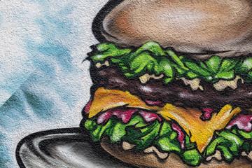 Hamburger Fast Food © Matthias Buehner