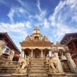 Temple of Durbar Square in Bhaktapur, Kathmandu valey, Nepal