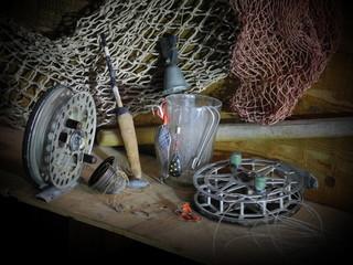 Аксессуары рыбака