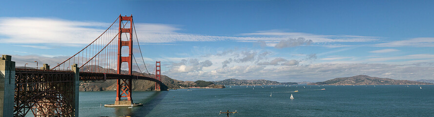 Landscape of Golden Gate Bridge