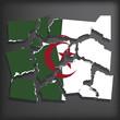 Постер, плакат: Flag of Algeria