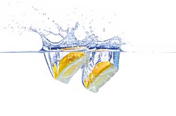 Zitrone Splash