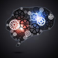 Human Brain Shape Gears