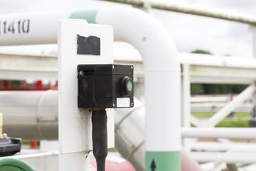 button start pump natural gas or water