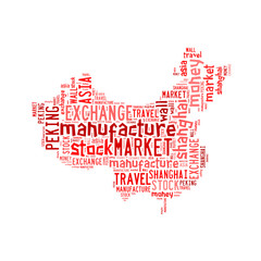 Made in china word cloud