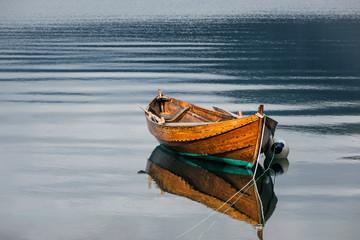 Boot auf dem Storfjord