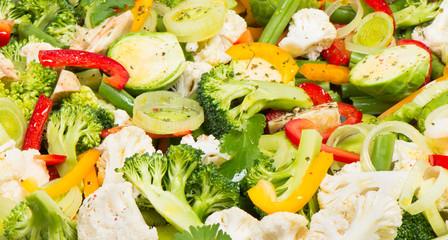 More background of vegetables