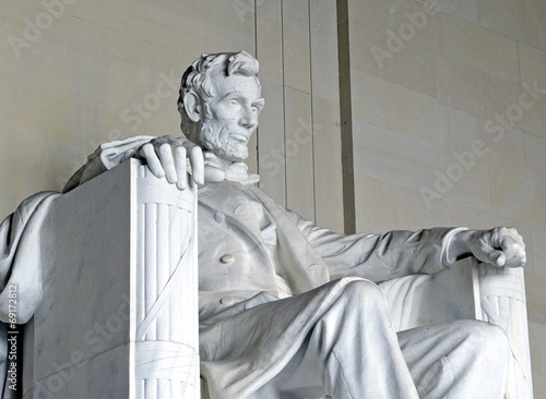 Abraham Lincoln Statue, Lincoln Memorial, Washington DC