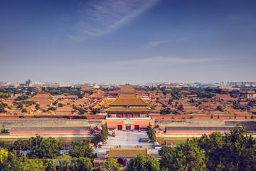 Beijing, China Imperial City Skyline