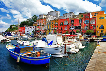 colorful Italy - Procida island