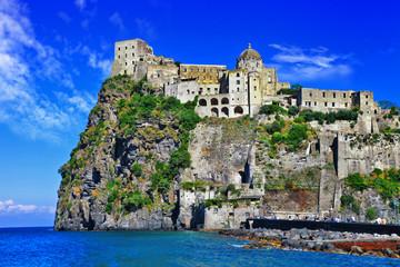 impressive Aragonese castell - Ischia island,Italy