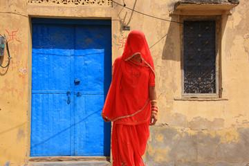 Femmes indiennes au Rajasthan