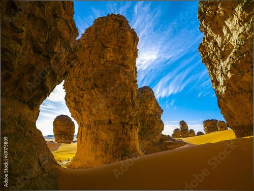 Fotobehang Woestijn Sahara Desert, Algeria