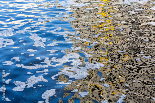 Pollution of water - 69175893