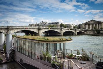 Jardin sur la Seine