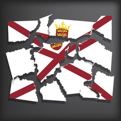 Flag of Jersey