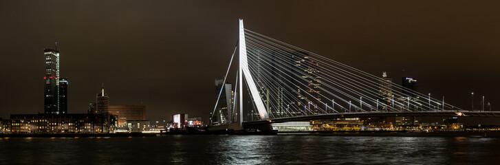 Panorama Erasmusbrug-Rotterdam Zuid