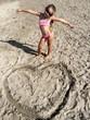 Giocando sulla sabbia