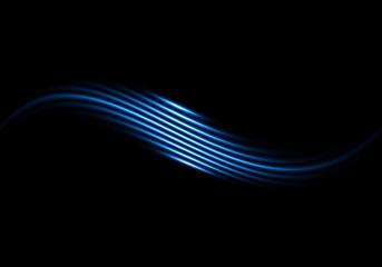 Estetik Mavi Çizgiler