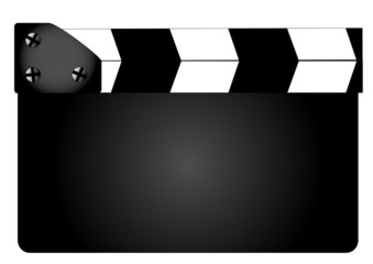 Blank Movie Clapperboard