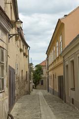 Old street in Znojmo