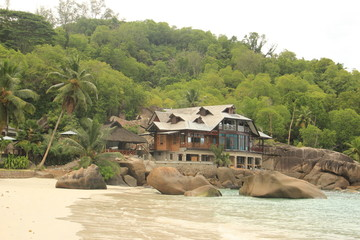House in a paradise