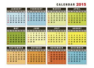 Calendar 2015 English