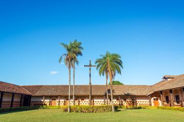 Jesuit Mission Courtyard