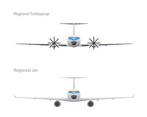 Jet and regional turboprop