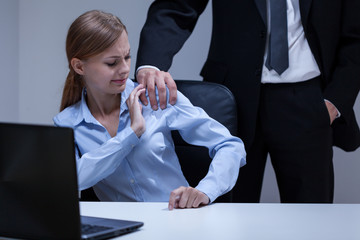 Sexual harassment in the office