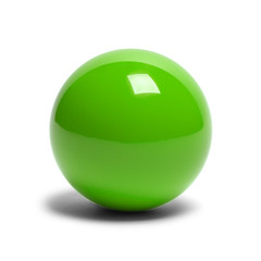 Green Billard Ball