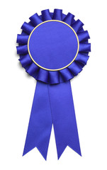 Large Blue Ribbon