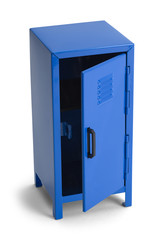 Open Blue Locker