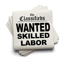 Wanted Skilled Labor