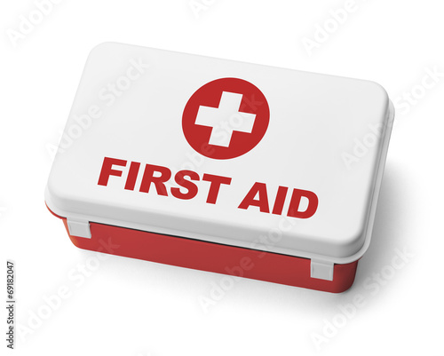 First Aid Kit Red - 69182047