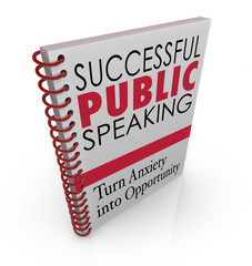 Successful Public Speaking Book Cover Help Advice Giving Speech