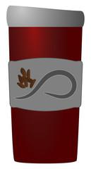 Coffee Tumbler Red