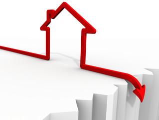 Падение цен на недвижимость. Концепция