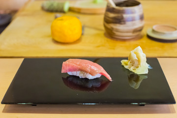 Tuna Sushi fresh japan food