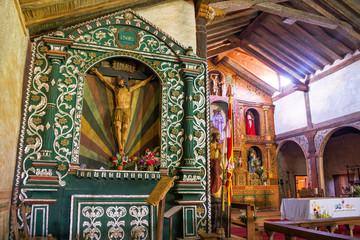 Santa Ana Church Altar