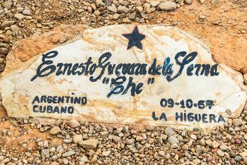 Original Grave of Ernesto Che Guevara