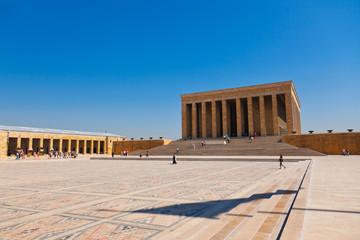 Mustafa Kemal Ataturk mausoleum in Ankara Turkey